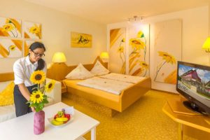 Eden am Park Sonnenblumen-Zimmer