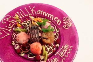Restaurant Dessertteller